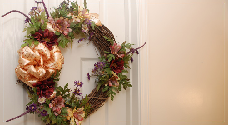 18 Inch Rose Wreath